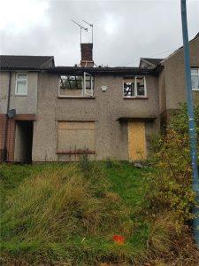 Fire damaged house cash buyer